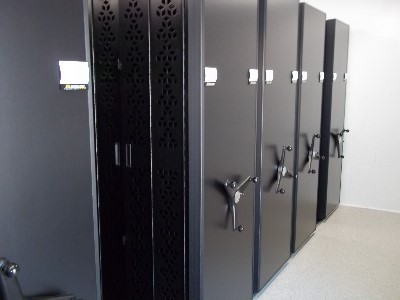 Mobile Storage System Weapon Racks